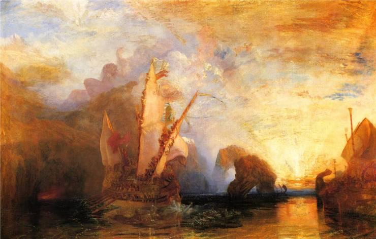 JMW Turner - Ulysses